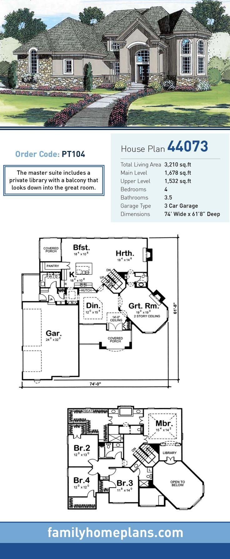 4657 best home floorplan images on pinterest house floor plans european house plan 44073