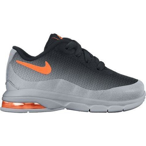 Nike Toddlers  Air Max Invigor Shoes (Wolf Grey Total Orange Black ... f7d8f62620