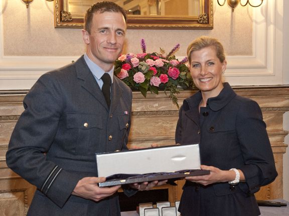 The Combined Service Sports Awards were presented by HRH Countess of Wessex on March 2014