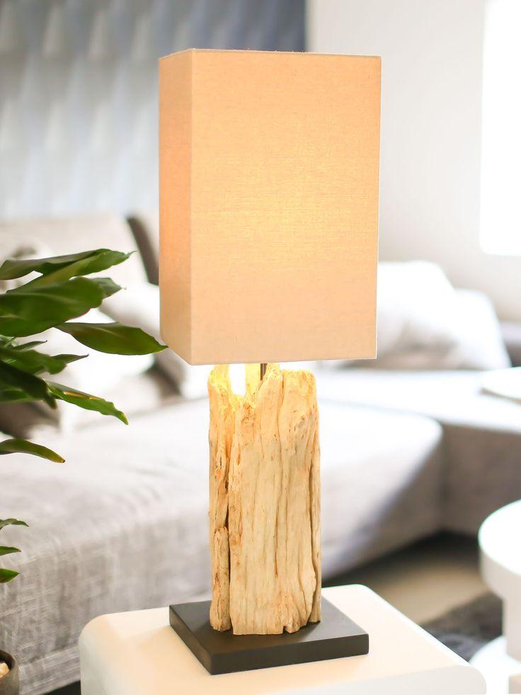 Diese Tischlampe Treibholz Ist Hochwertige Handarbeit ✓ Jedes Stück Ein  Unikat ✓ Hohe Qualität U0026 Schneller Versand Im Online Shop