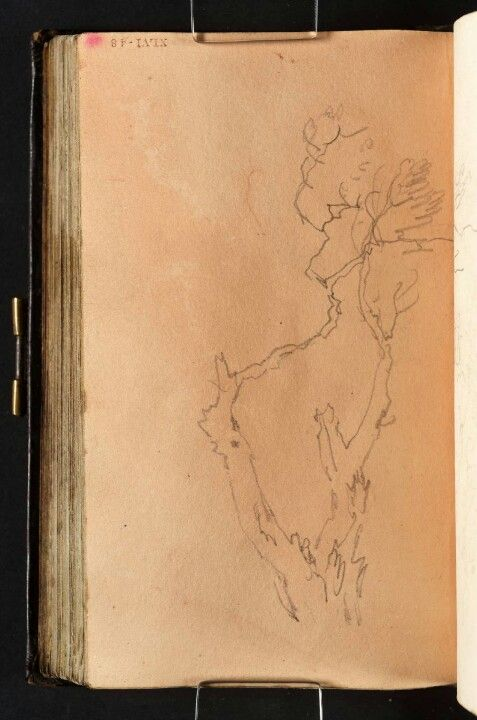 This is what I call. SKETCHBOOK - wow. Joseph Mallord William Turner  www.artexperiencenyc.com