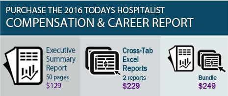Get information on hospitalist pay, productivity and more Do you want to know how much hospitalists are making in your area? Or how many patient encounters per shift hospitalists are seeing on average? More than 600 hospitalists responded to the 2016 Today's Hospitalist Compensation & Career Survey, providing information about everything from pay and productivity