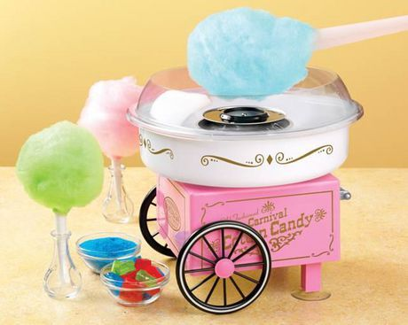 how to use the real cotton candy maker