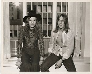 David Bowie: David and Mick Ronson in New York, 1971