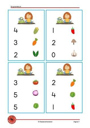 de groentetuin