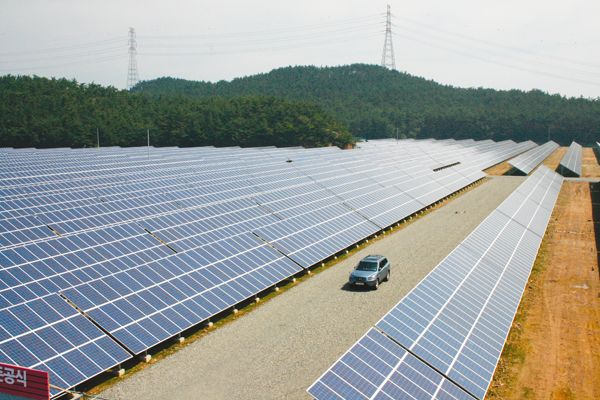 plastics, polysilicon, PV solar cell and solar panel in Korea: Korea's new pv solar power generation facility wil...