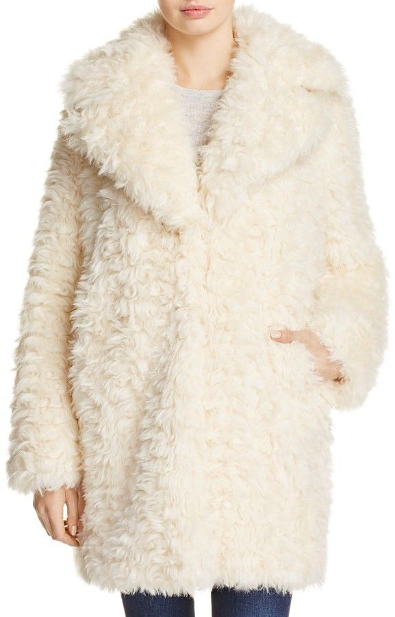KENDALL and KYLIE Faux Fur Coat - Kardashian 375961080