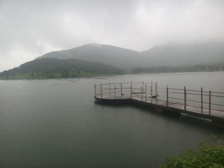 Virar Dam during monsoon