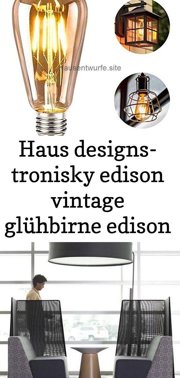 Haus Designs Tronisky Edison Vintage Gluhbirne Edison Lumineszenzdiode Lampe E27 4w Retro De 3 Design Vintage Retro
