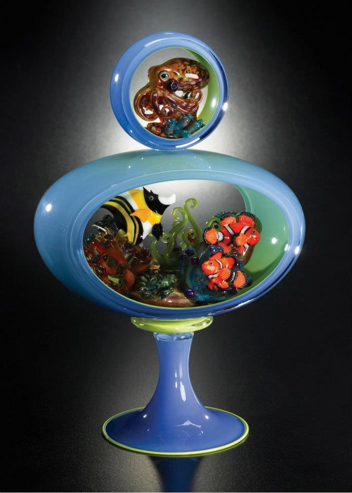 Joe Peters glass aquarium