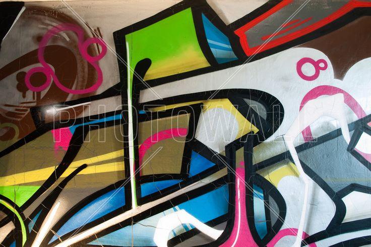 Colorful Graffiti - Fototapeter & Tapeter - Photowall