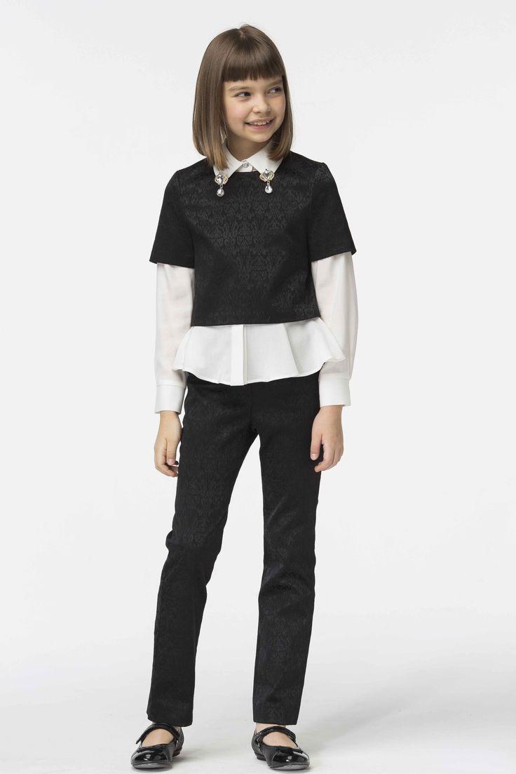Купить Блуза Б059 Блузы для девочек от компании «Смена»