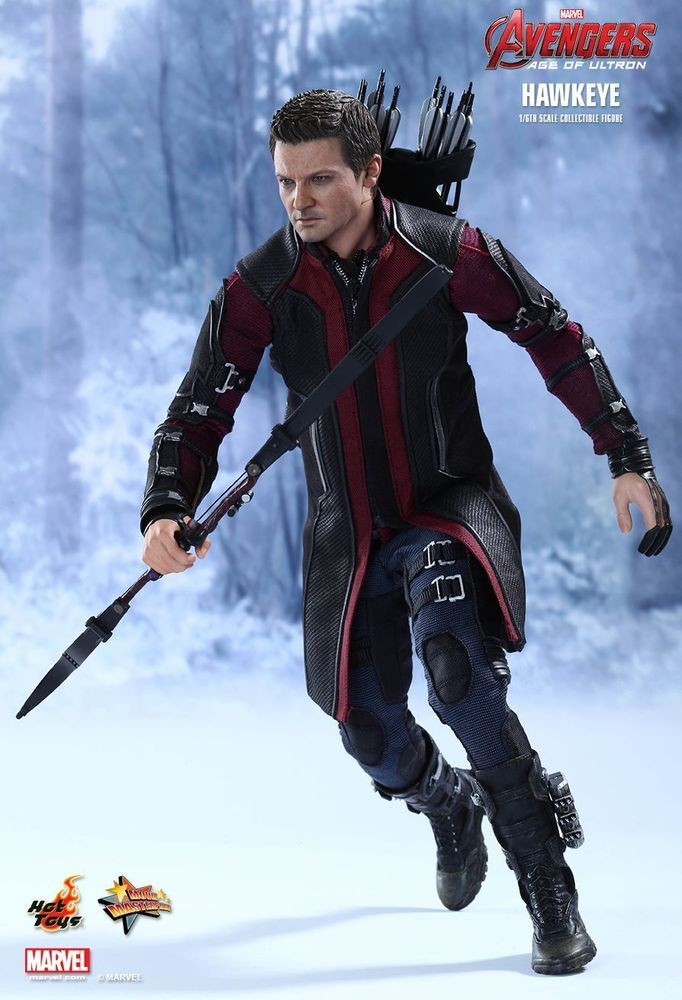 Hot Toys Avengers 2 Age Of Ultron Hawkeye 1/6 Collectible ...