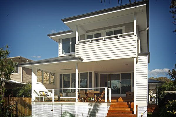 The ultimate beach house renovation - freshwater homes | James Hardie