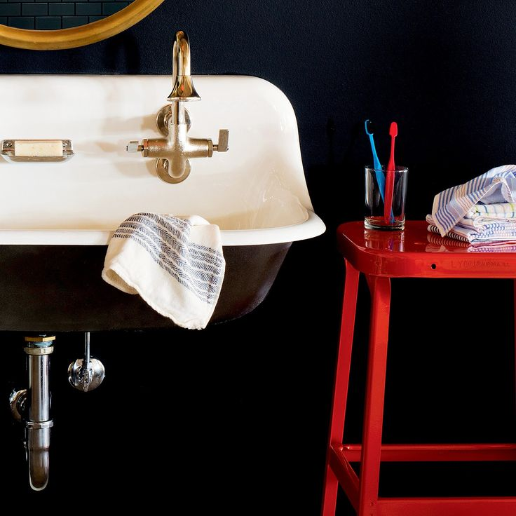 87 best images about bath accessories on pinterest bath for Navy bath accessories