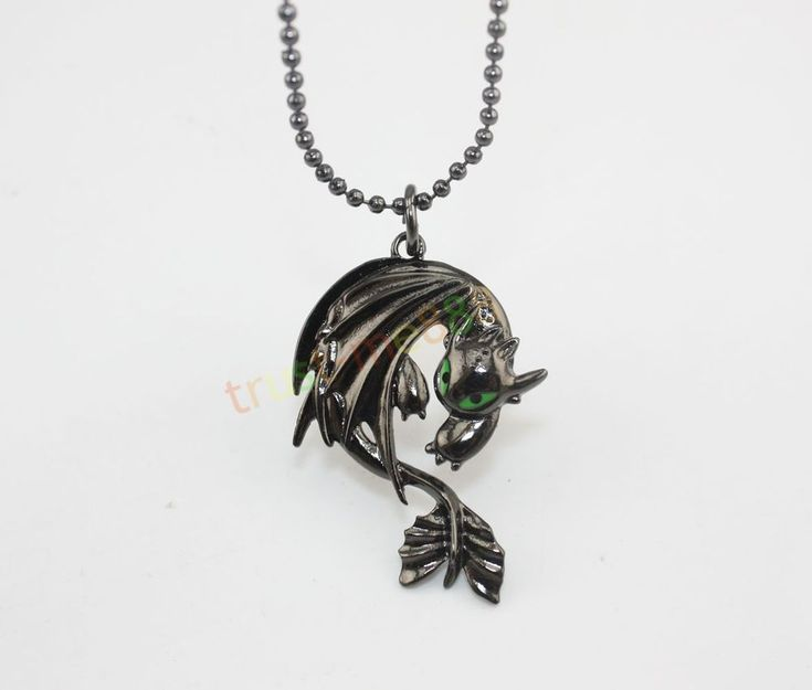 How To Train Your Dragon 2 Toothless Night Fury Animal Necklace Pendant New #Pendant