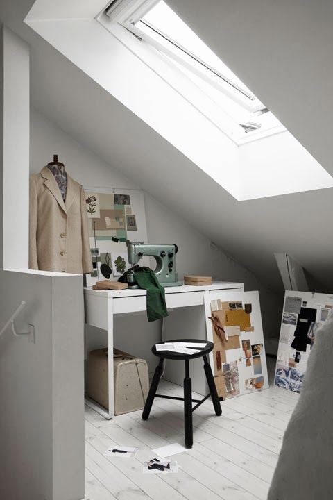 VELUX dakraam. www.velux.nl #VELUX my scandinavian home: A fab home tour with a twist