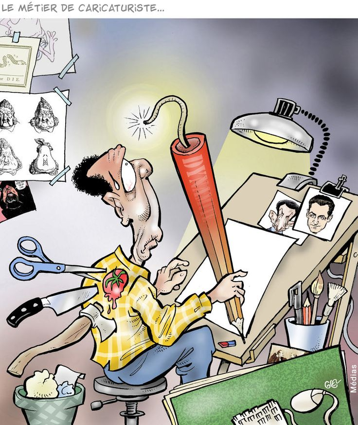 Le métier de caricaturiste