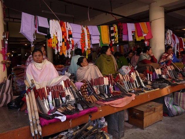 Ima Keithel - Manipur's amazing Mothers' Market   Photo Gallery - Yahoo! Lifestyle India
