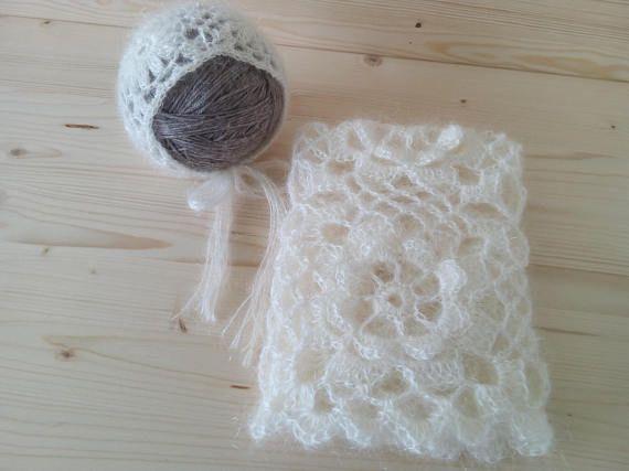 NEW Newborn Blanket And Hat Newborn Set Crochet Newborn