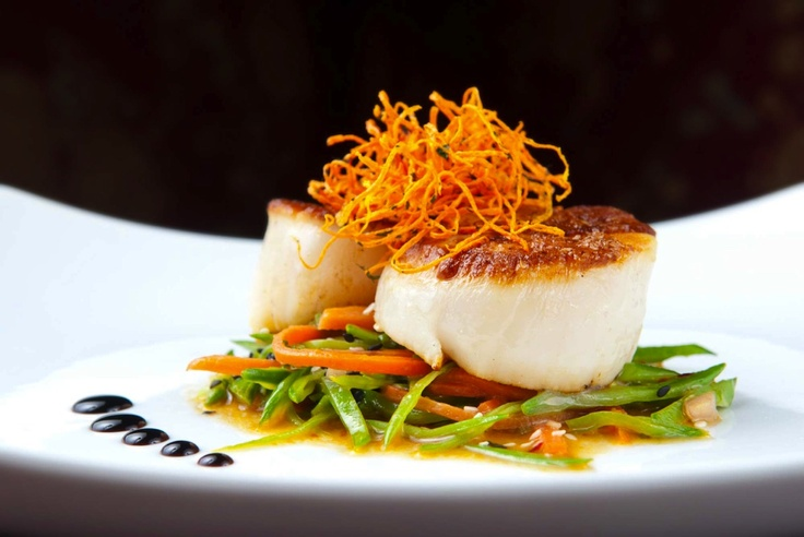 Fork :): Cold Appetizers, Istockphoto Coupon, Sauteed Scallops, Food Photography, San Francisco, Seared Scallops, Francisco Restaurants
