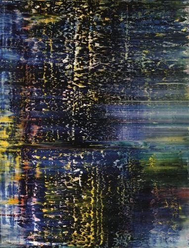 Gerhard Richter, Forest (3)  1990, Catalogue Raisonné: 733. http://www.gerhard-richter.com/art/paintings/abstracts/detail.php?paintid=10420#