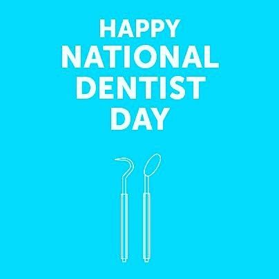 It's National Dentist Day! Do you love or loathe going to the dentist? Do you have a favorite dentist in SWFL??? #nationaldentistday #swfl #livinglocal #dentist #cavities #crowns #fillings #ouch #fortmyers #naples #dentalassistant #healthcare #cleaning #dentalhealth #gums #toothbrush #floss #goodteeth