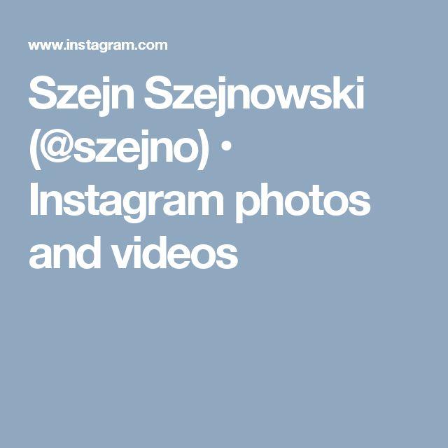 Szejn Szejnowski (@szejno) • Instagram photos and videos
