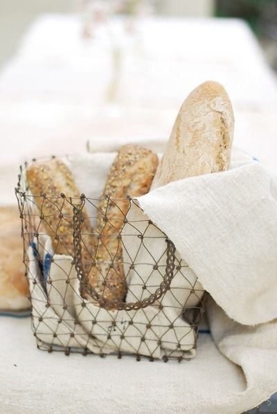 bread basket... so much nicer than the run of the mill straw vessel.