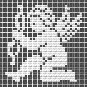 Angel, filet crochet, motive, crochet patterns, free, dolies, hat, crocheting, crochet charts and motifs - www.free-crochet-patterns.rucniprace.cz