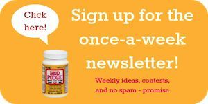 Sign up for the Mod Podge Rocks weekly newsletter - ideas, contests, and no spam!