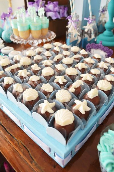 Fraldas & Rabiscos: Festa de aniversário: Pequena Sereia!