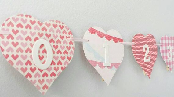 Check out this item in my Etsy shop https://www.etsy.com/ca/listing/587124319/heart-12-month-photo-banner-milestone