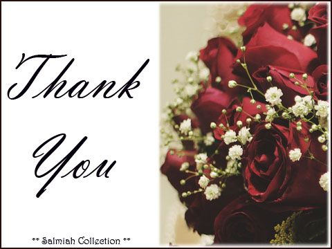 Salmiah Collection: Thank You Card 40