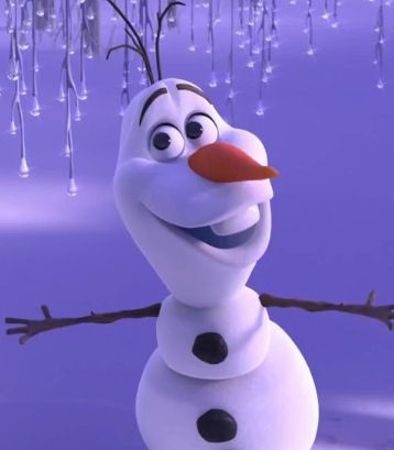 "Olaf  "" Hi I'm Olaf and I like warm hugs"" We all need an Olaf"
