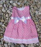 Romantické dívčí šaty