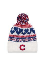 New Era Chicago Cubs White Winter Cutie Knit Hat