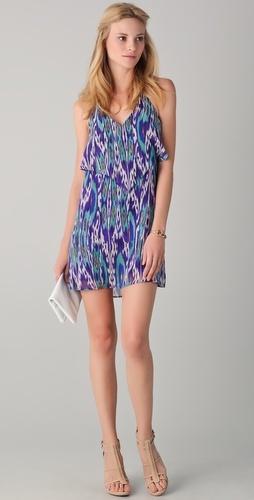 : Rorybeca, Prints Dresses, Dresses Style, Halter Ruffles, Ruffles Dresses, Pesha Halter, Rory Beca, Beca Pesha, Halter Dresses