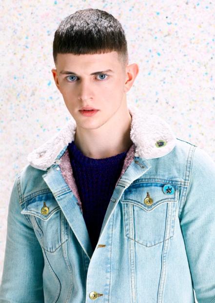 Katie Eary denim jacket for TopmanEary Katy, Eary Denim, Fashion News, Katy Eary, Denim Jackets, London Style, Topman Denim, Jackets Projects, Jackets Topman