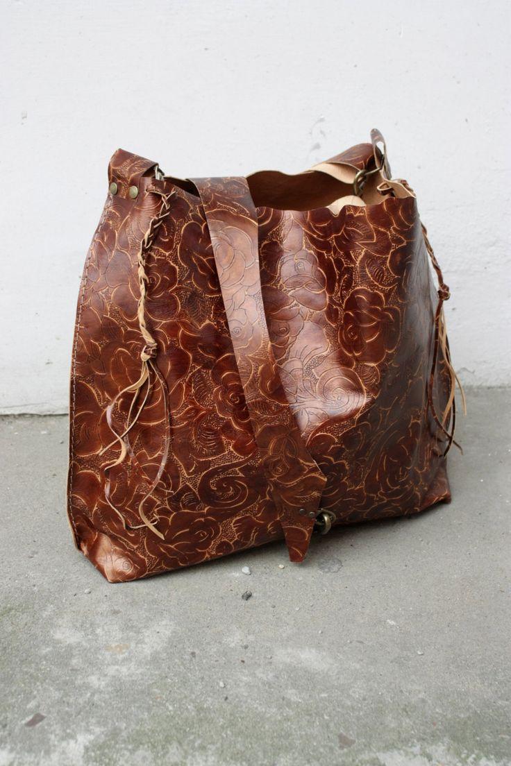 Leather bag, Light brown bag, Handbag, Navaho by clothesNavaho on Etsy