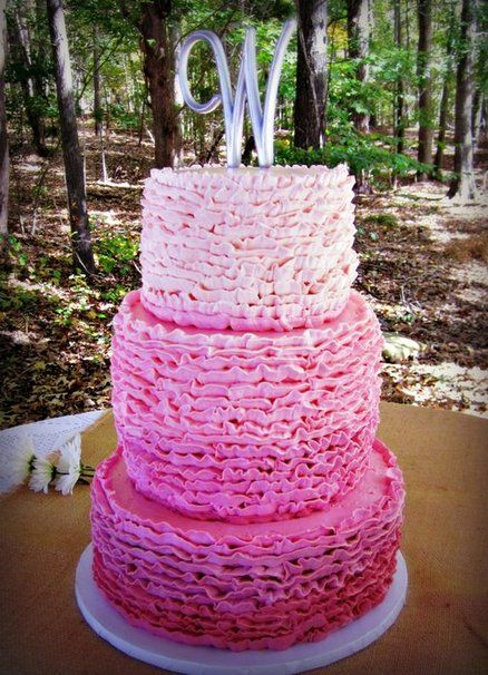 Buttercream Ruffle Cake Decorating : 17 Best images about decorate :: ruffle and petal cakes on ...