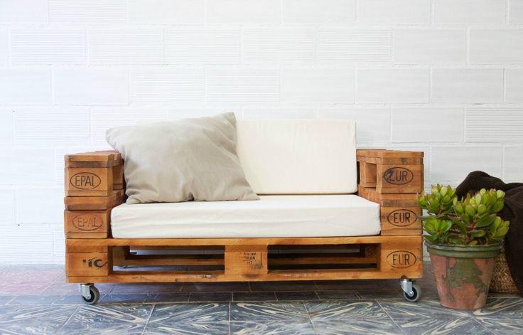 ¿Conoces las posibilidades del mobiliario con palets? - Muebles hechos con palets