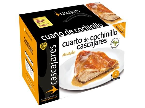 Cuarto de Cochinillo Asado Cascajares  //  Precio unidad 35 euros (IVA incluido)