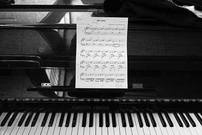 Playing love. #piano