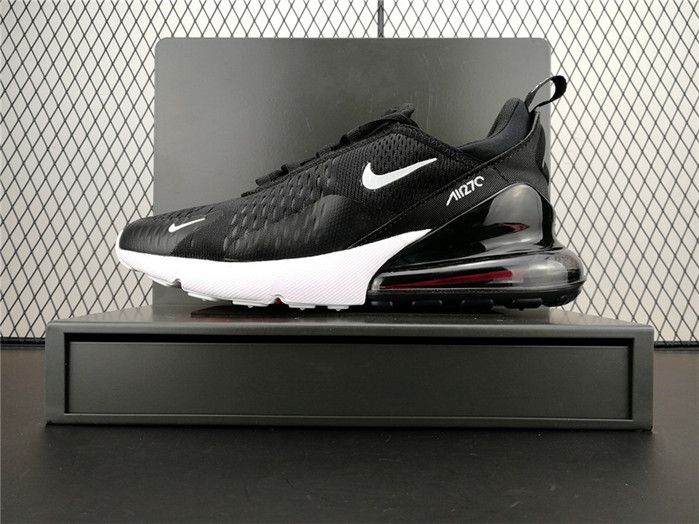 777bf20bb8ff 2018 New Arrival Nike Air Max 270 Girls Sneakers Black White