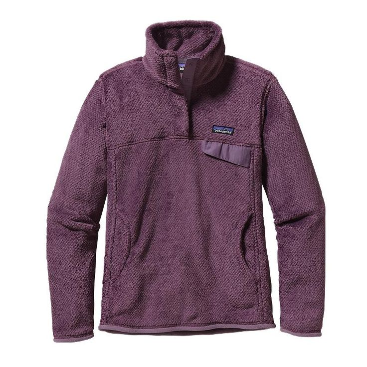 Patagonia Women\'s Re-Tool Snap-T\u00AE Fleece Pullover - Tyrian Purple - Tyrian Purple X-Dye TYPX