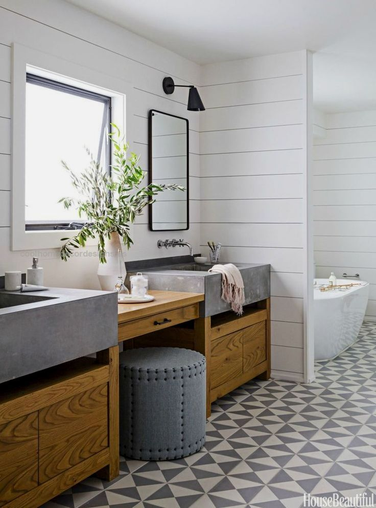 Rustic Modern Bathroom Designs – Mountain Modern Life  Dreaming of a modern mountain home or rustic and refined farmhouse? Here are Rustic Modern Bathroom Designs thatare sure to inspire! MountainMode ..  http://www.coolhomedecordesigns.us/2017/05/30/rustic-modern-bathroom-designs-mountain-modern-life/