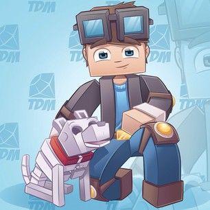 Dantdm Minecraft Skin Face 84276 Loadtve