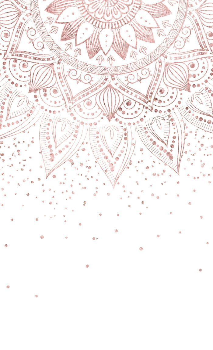 Elegant rose gold mandala confetti design Window C… – #Confetti #design #Elega…