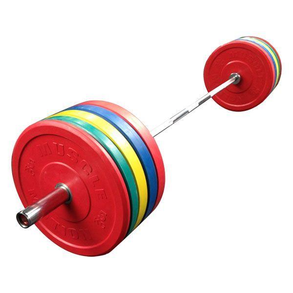 Muscle Motion 150kg Bumper Weight Set